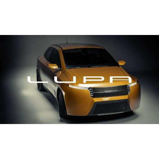 Lupa E26 car brand of the Spanish manufacturer Lupa Motors cheap electric cars