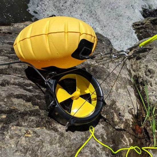 Portable Waterlily Turbine