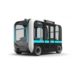 Unmanned electric bus Olli