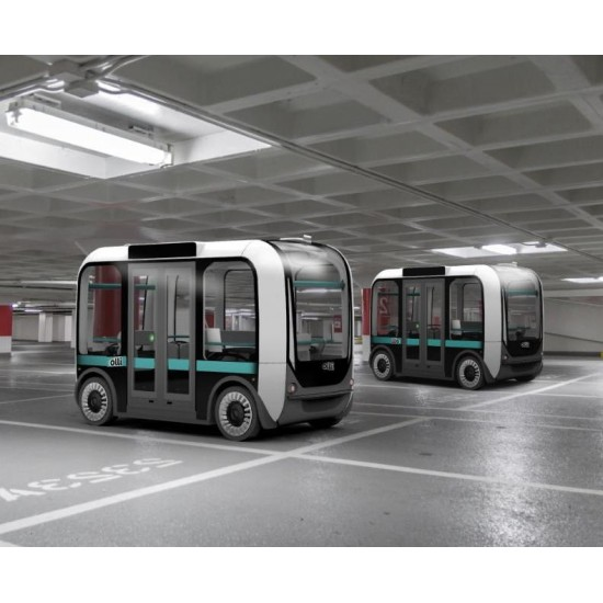 Unmanned electric bus Olli Local Motors